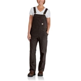 WOMENS CRAWFORD DOUBLE FRONT OVERALLS
