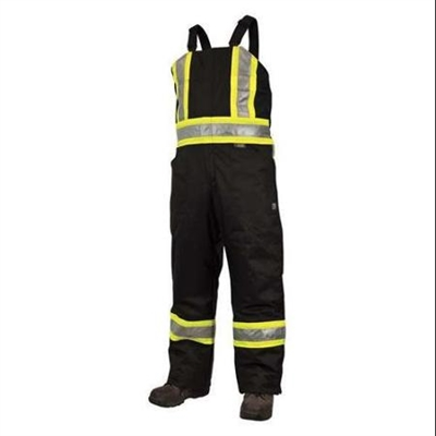 MEN'S LINED SAFETY OVERALLS EXTRA SIZES