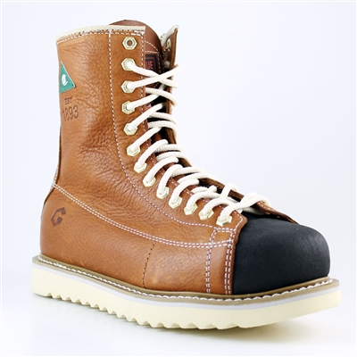 "BOOT JBG IRONWRK 8"" WRK TAN 8"