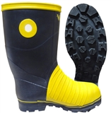 MEN'S MINING RUBBER SAFETY BOOTS