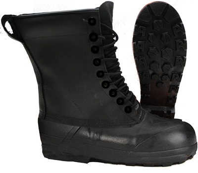 MEN'S LEATHER LACE UP WINTER BOOTS