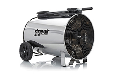 AIR CIRCULATOR SS PORTABLE 16""