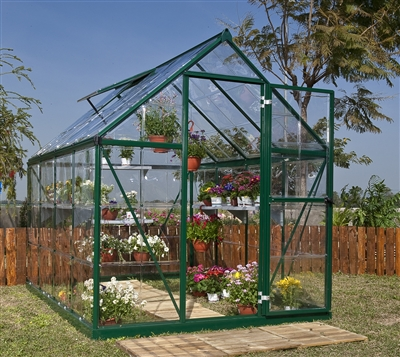 6' X 8' HARMONY GREENHOUSE