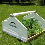 GrowIt Backyard Raised Bed Greenhouse- Peak Style