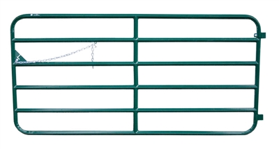 "15' DIAMOND 6 BAR 48"" GATE GRN"