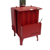 STOVE BIOMASS CANADIAN RUBYRED