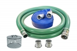 Heavy-Duty PVC Pump Hose Kit with Quick-Connect Accessories