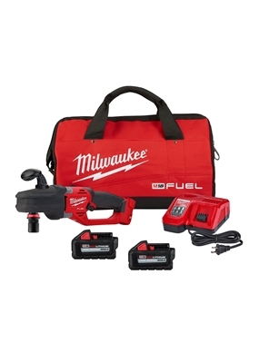 M18 FUEL™ 18 Volt Lithium-Ion Brushless Cordless HOLE HAWG® Right Angle Drill w/QUIK-LOK™