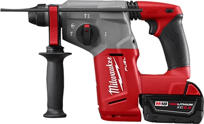 M18 FUEL™ 18 Volt Lithium-Ion Brushless Cordless 1 in. SDS Plus Rotary Hammer Kit