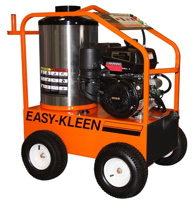 EASY KLEEN 4000 PSI 3.5 GPM 14 HP KOHLER ENGINE OIL FIRED COMMERCIAL HOT WATER PRESSURE WASHER