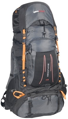 BACKPACK EXPLORER 75L BLK