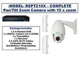 WIRELESS Camera- Pan/Tilt/10x Zoom- Starting Package
