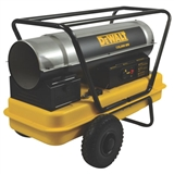DEWALT Forced Air Multi-Fuel Kerosene Heater, 135,000 BTU/Hr.