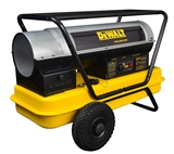 DEWALT Forced Air Multi-Fuel Kerosene Heater, 190,000 BTU/Hr.