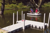 15' DOCK WITH WALKWAY