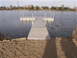 16' DOCK WITH WALKWAY