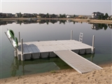 12'x8' DOCK WITH WALKWAY