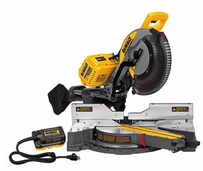 "DEWALT FLEXVOLT 120V MAX 12"" DOUBLE BEVEL SLIDING COMPOUND MITER SAW"