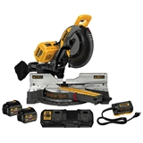 "DEWALT FLEXVOLT 120V MAX 12"" DOUBLE BEVEL COMPOUND SLIDING MITER SAW KIT"