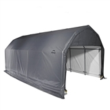 BARN STYLE SHELTER 12x24x11 - GRAY