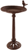 BIRD BATH ON STAND CAST