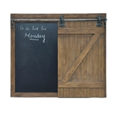 CHALKBOARD BARN DOOR 32X.5X27