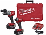 MILWAUKEE M18 FUEL 2-TOOL COMBO KIT - DRILL/IMPACT