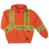 HOODIE FR HIGH VISIBILITY ZIP