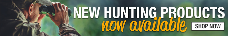New Hunting Products Now Available - Shop Now