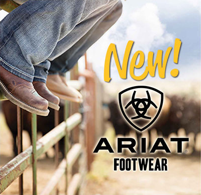 NEW: Ariat Footwear