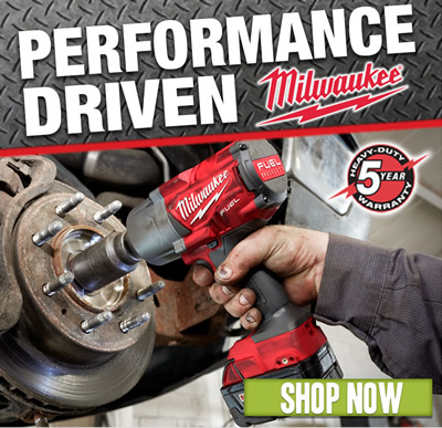 Milwaukee: Performance-Driven with heavy-duty 5-year warranty. Shop now.