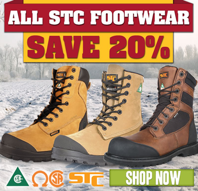 All STC Footwear: Save 20%! Shop now.