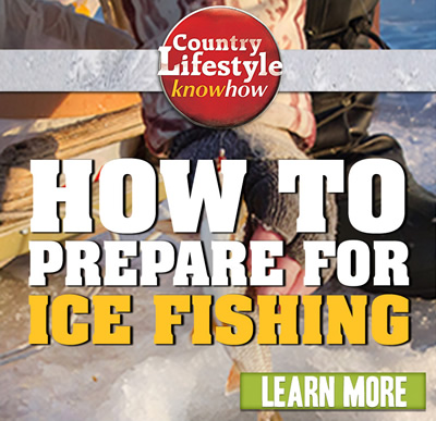 HOW TO PREPARE FOR ICE FISHING. Learn More.