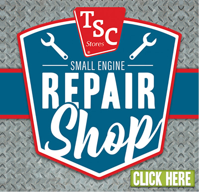 TSC SMALL ENGINE REPAIR SHOP. Click here