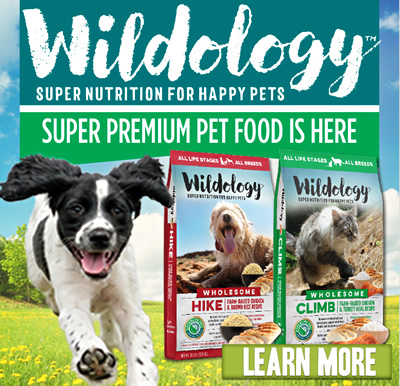 WILDOLOGY: Super Nutrition for Happy Pets. Super premium pet food is here! Learn More.