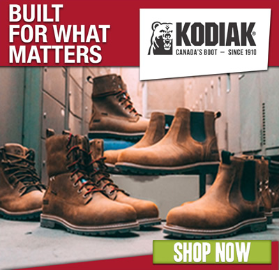 Kodiak Footwear: Shop Now