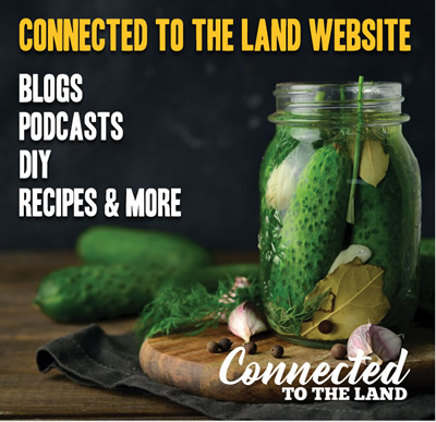 Visit the CONNECTED TO THE LAND website