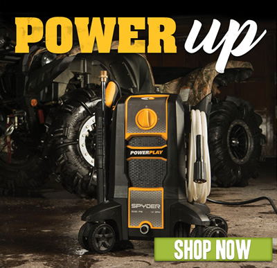 POWER UP. Shop now.