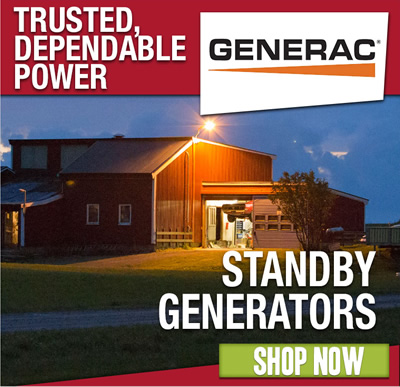 GENERAC Generators: Trusted, Dependable Power. Shop now.