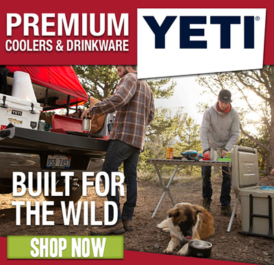 YETI - Built For The Wild: Shop now.