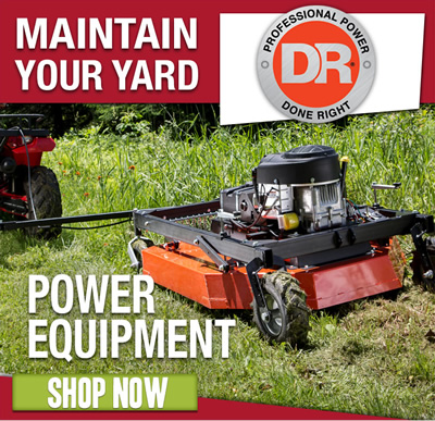 POWER EQUIPMENT: Shop now.