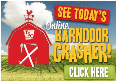 See Today's Online Barndoor Crasher!